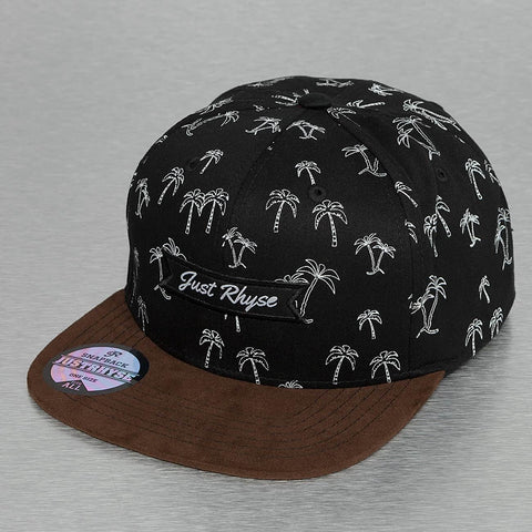 Just Rhyse / Snapback Cap Island Mountain in black