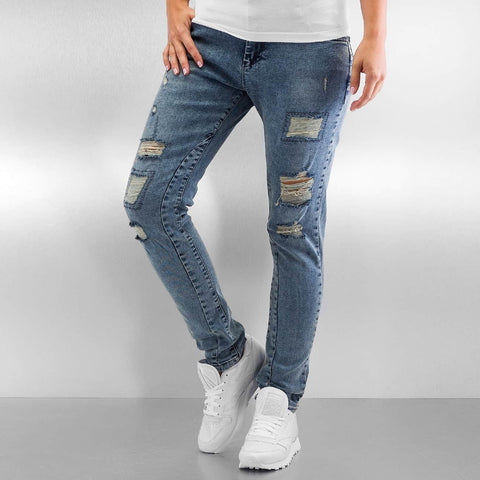 Just Rhyse / Boyfriend Jeans Rosa in blue