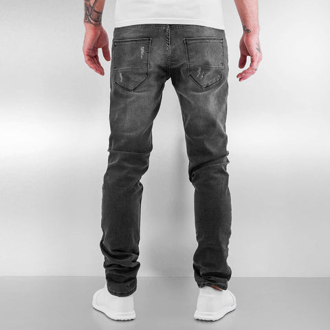 2Y / Slim Fit Jeans Patches in grey