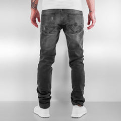 2Y / Slim Fit Jeans Patches in grey - Streetscenter