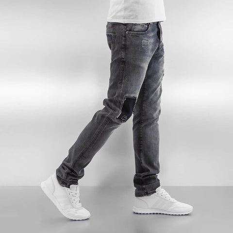 2Y / Slim Fit Jeans Wangen in gray