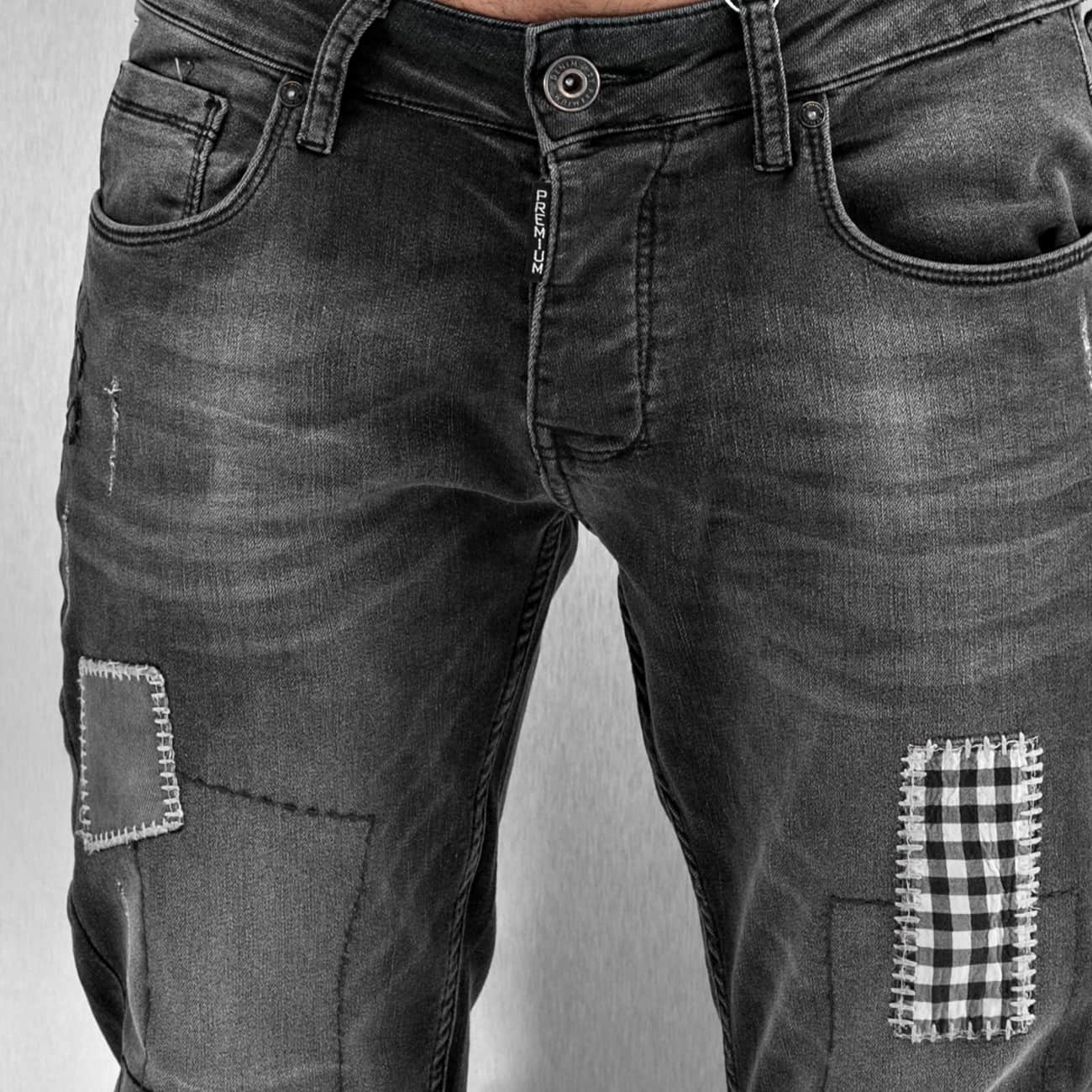 2Y / Slim Fit Jeans Latan in grey - Streetscenter