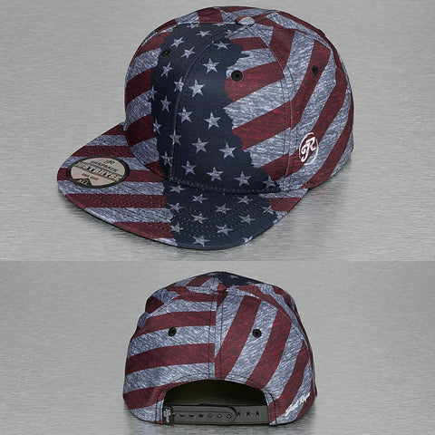 Just Rhyse / Snapback Cap America in colored