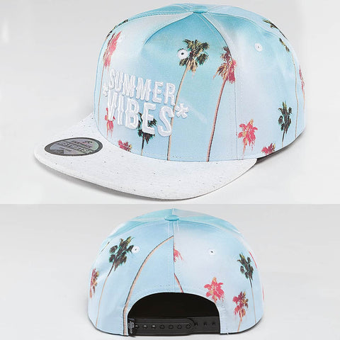 Just Rhyse / Snapback Cap Bayview in blue