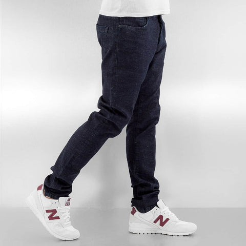 Cyprime / Slim Fit Jeans K100 in indigo
