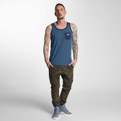 Dangerous DNGRS / Slim Fit Jeans Noray in camouflage