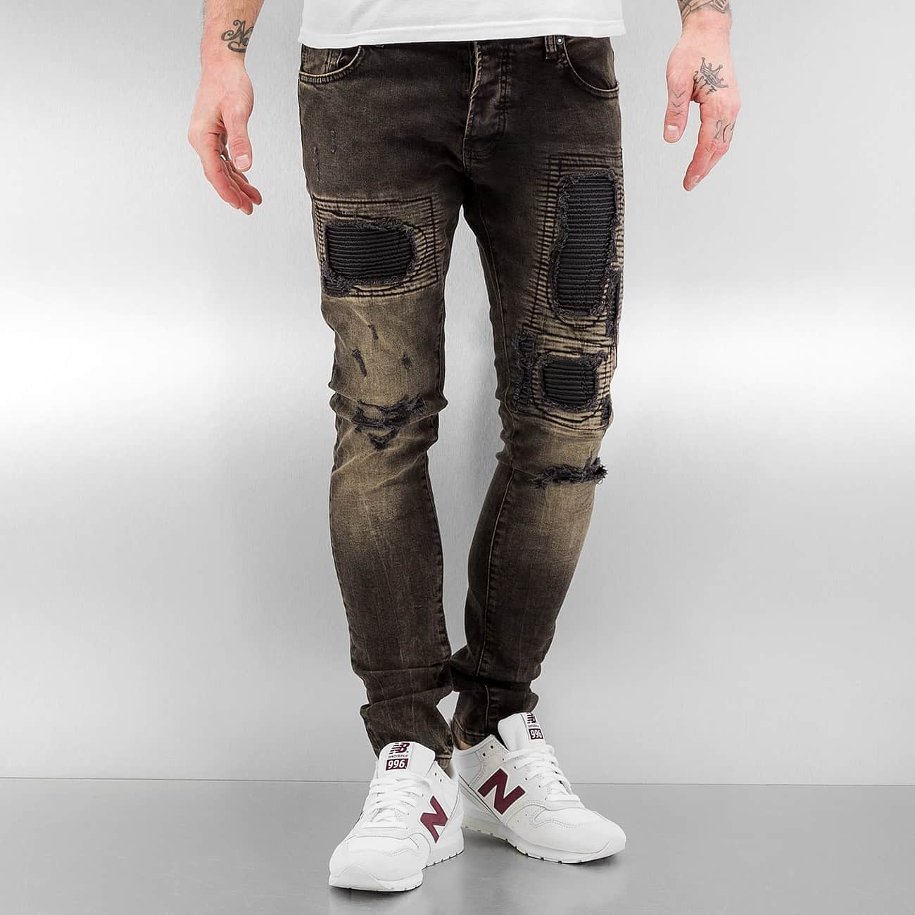 2Y / Skinny Jeans Norwich in black - Streetscenter