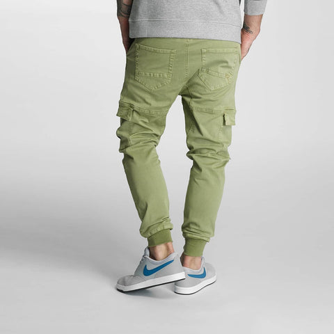 Rocawear / Cargo Jogger Fit in olive