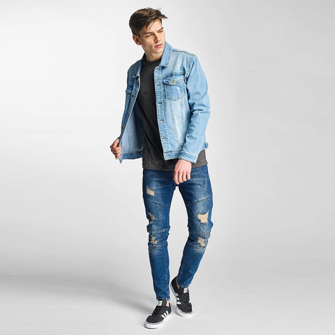 Just Rhyse / Slim Fit Jeans Holbox in blue
