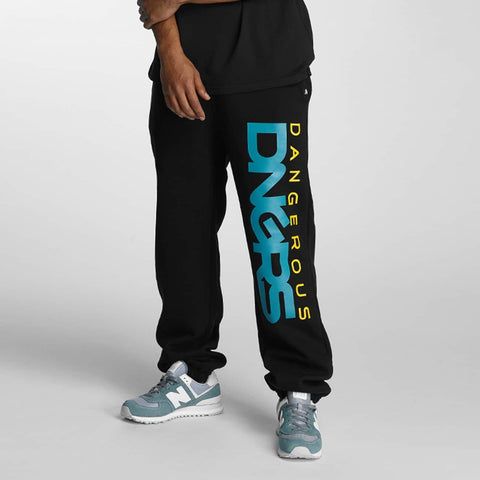 Dangerous DNGRS / Sweat Pant Classic in black