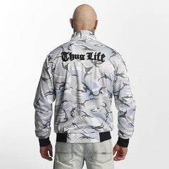 Thug Life / Winter Jacket Wired in white - Streetscenter