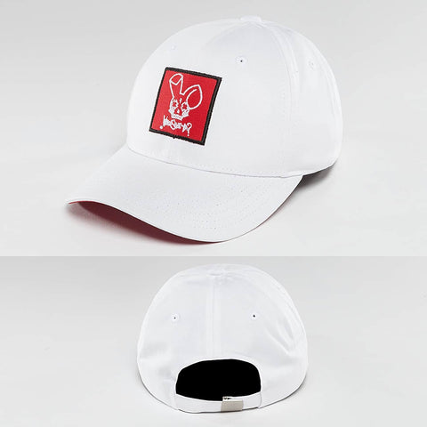 Who Shot Ya? / Fitted Cap Daddy Fit in white