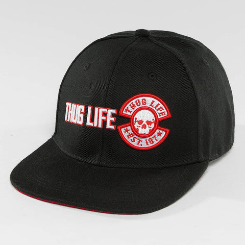 Thug Life / Snapback Cap Lux in black