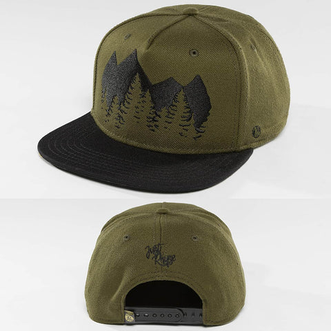 Just Rhyse / Snapback Cap Malaspina Starter in olive
