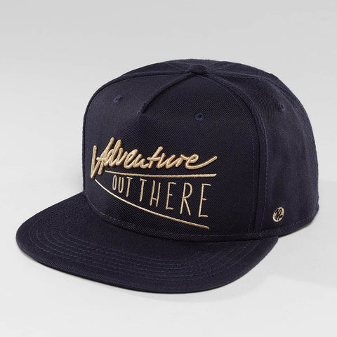 Just Rhyse / Snapback Cap Nelchina Starter in blue