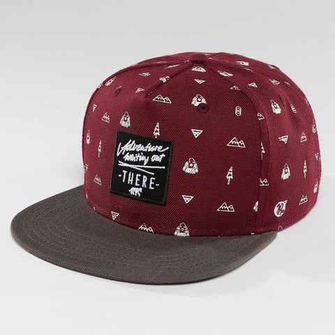 Just Rhyse / Snapback Cap Nabesna Starter in red