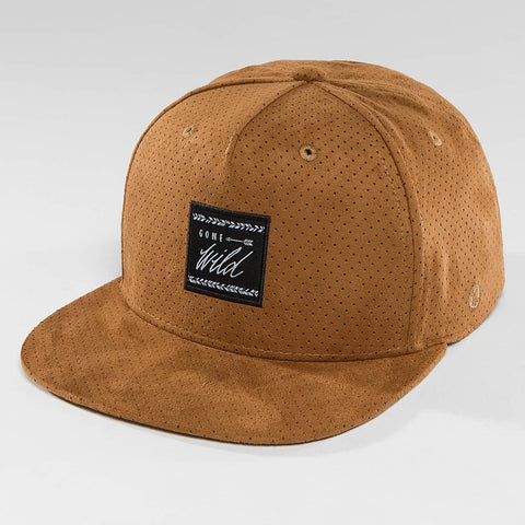 Just Rhyse / Snapback Cap Tin City in brown