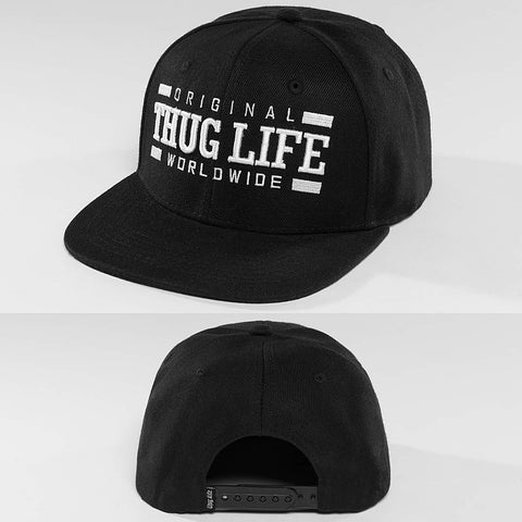 Thug Life / Fitted Cap Worldwide in black