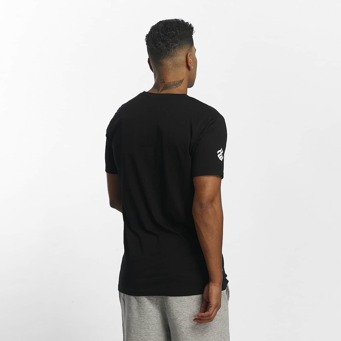 Rocawear / T-Shirt Color Block in black