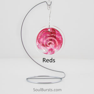 Cremation Suncatcher - Red