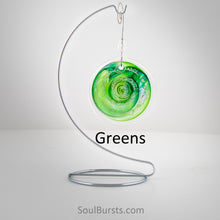 Load image into Gallery viewer, Cremation Suncatcher - Green