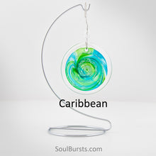Load image into Gallery viewer, Cremation Suncatcher - Caribbean