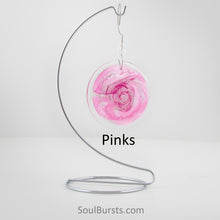 Load image into Gallery viewer, Cremation Suncatcher - Pink