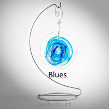 Load image into Gallery viewer, Cremation Suncatcher - Blue