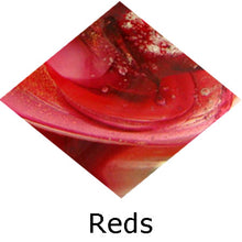 Load image into Gallery viewer, Blown Glass with Ashes - Red