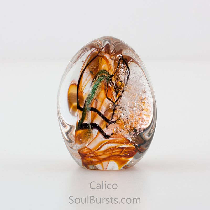 Glass Cremation Keepsakes - Calico Soul Dance