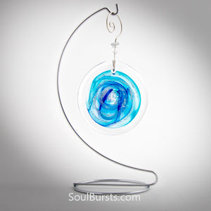 Cremation Suncatcher - Blue