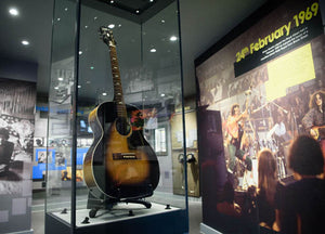 Jimi Hendrix's Acoustic Guitar Sold for a Quarter of a Million Dollars