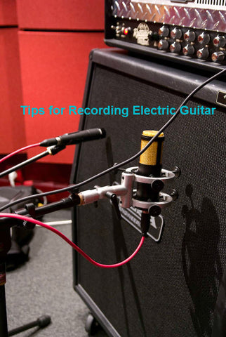 Recording electric guitar