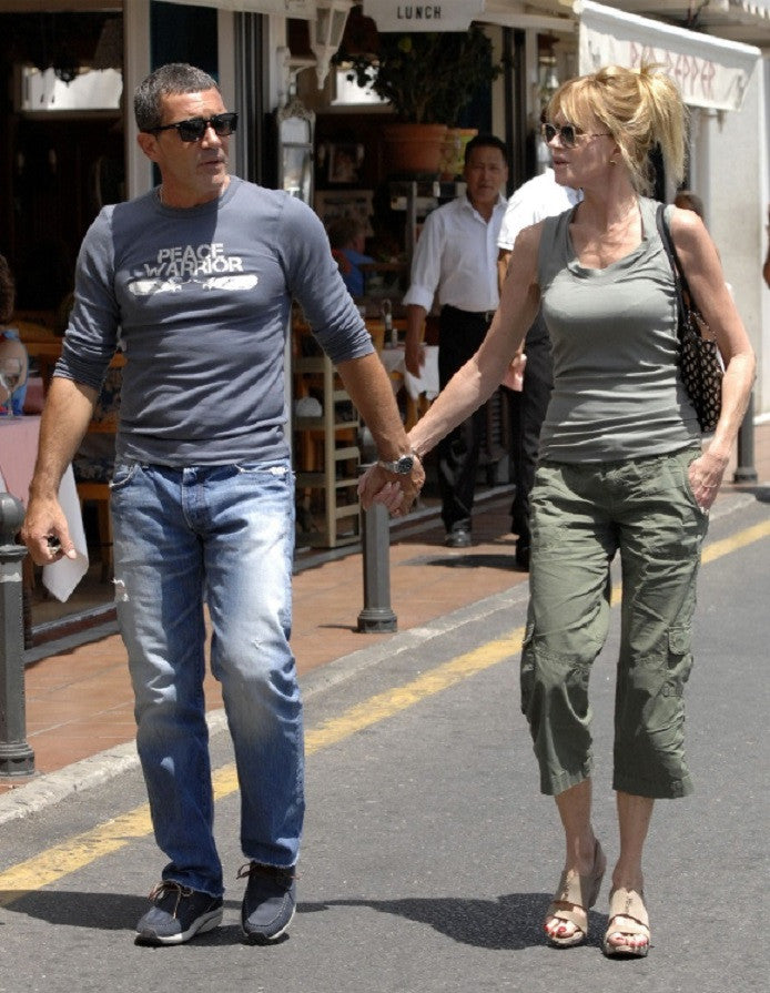 Antonio Banderas in a Classic Pair of Prps Jeans