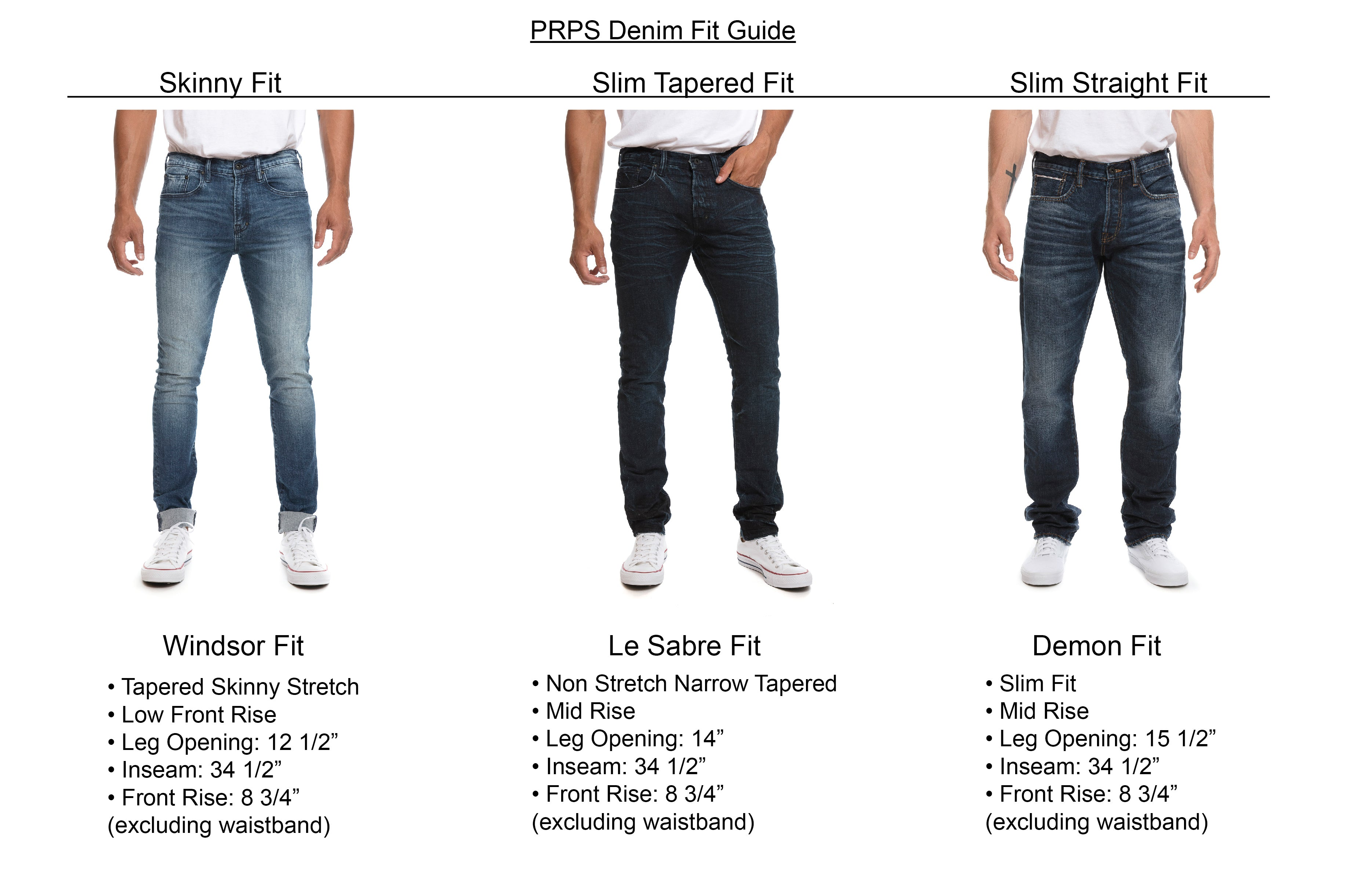 Prps Mens Fit Guise
