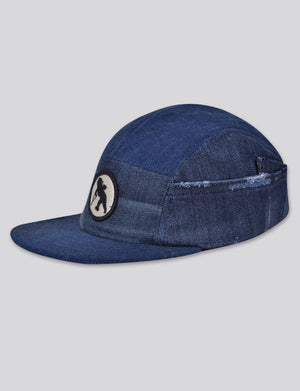 Prps - #3 Japanese Denim 5 Panel Hat - Hat - Prps