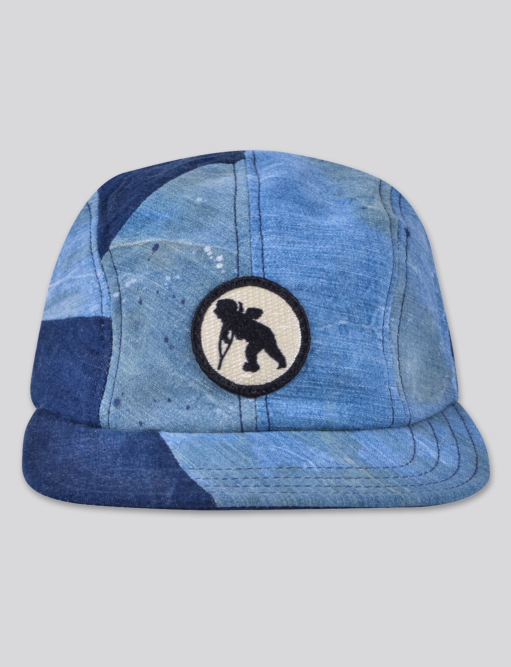 Prps - #6 Indigo Denim/Bleached Denim 4 Panel Hat - Hat - Prps