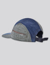 Prps - #8 Japanese Denim/Chino/Bleached Denim 5 Panel Hat - Hat - Prps