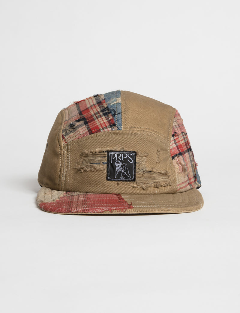 Prps - #21 Khaki Twill/Plaid Hat - Hat - Prps