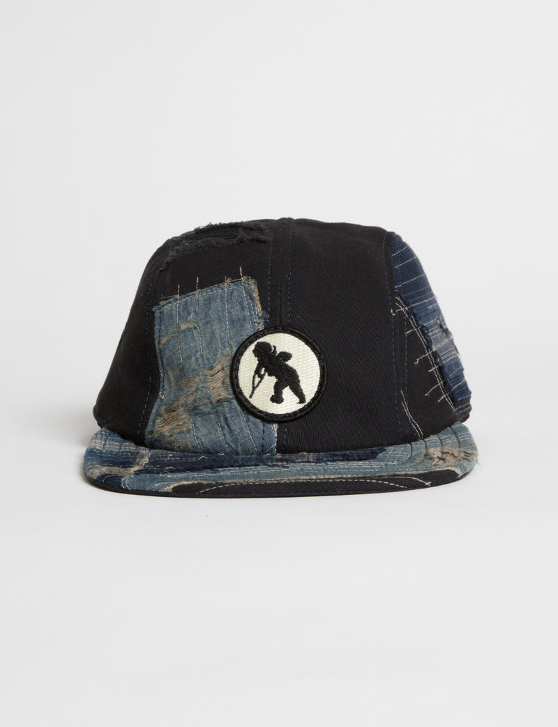 Prps - #24 Navy Twill/Denim Hat  - Hat - Prps