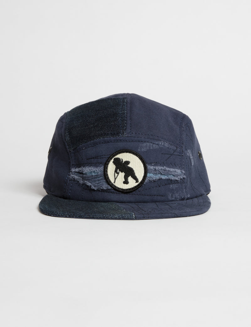 Prps - #28 Dark Rinse Denim/Navy Twill Hat - Hat - Prps