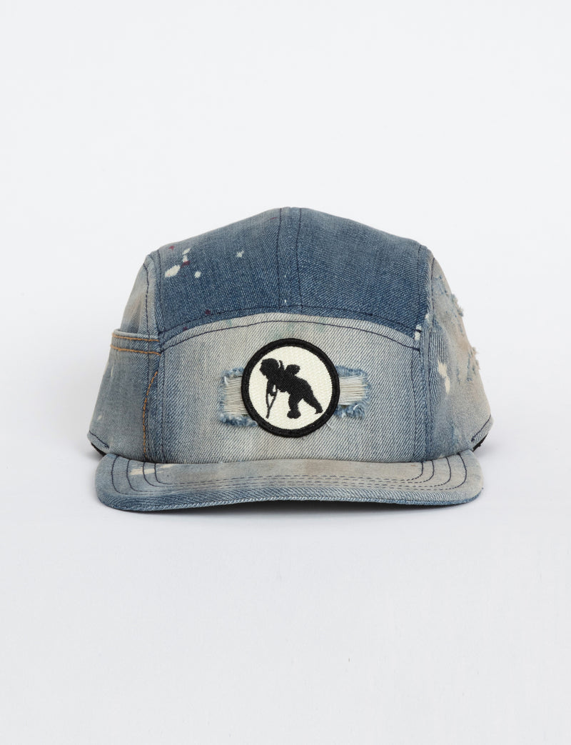 Prps - #40 2-Toned Bleached Denim Hat - Hat - Prps