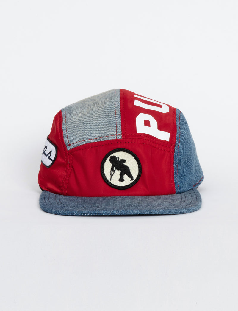 Prps - #33 Purpose Denim/Nylon Racer Hat - Hat - Prps