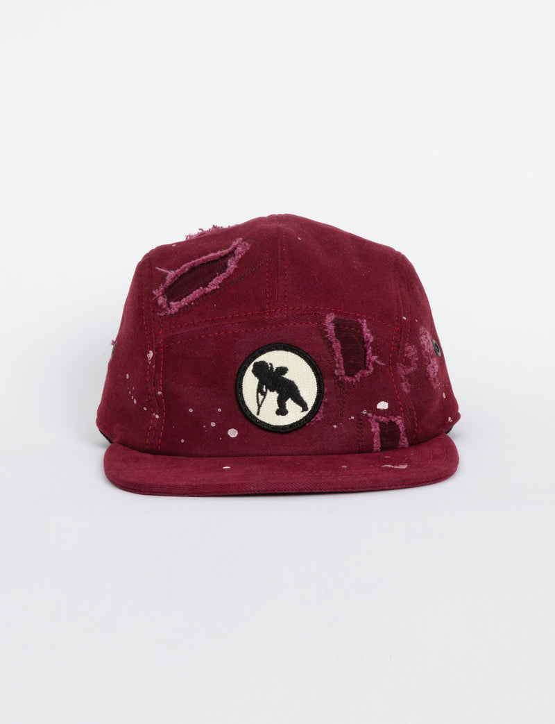 Prps - #35 Burgundy Chino/Corduroy Hat - Hat - Prps