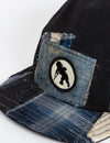 Prps - #38 Indigo Denim/Navy Twill Hat - Hat - Prps