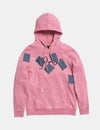 Prps X Atelier & Repairs Re-Purposed Pink Logo Hoodie #1