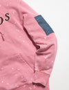 Prps - Prps X Atelier & Repairs Re-Purposed Pink Logo Hoodie #3 - Hoodies & Sweaters - Prps