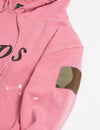 Prps X Atelier & Repairs Re-Purposed Pink Logo Hoodie #4