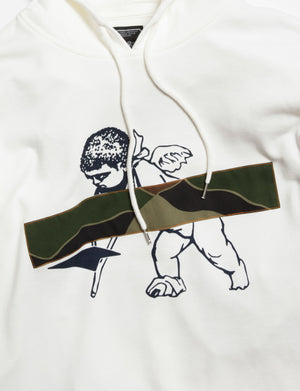 Prps X Atelier & Repairs Re-Purposed Cherub Hoodie #1