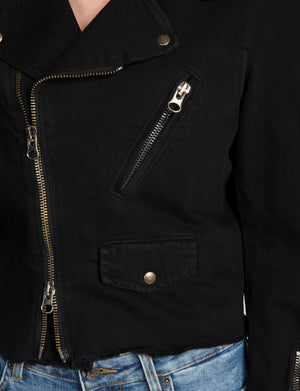 Prps - Cropped Black Jacket - Jacket - Prps